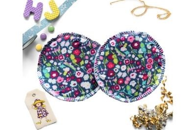 Click to order  Breast Pads Brightly Bloom now